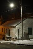 Una tarde del invierno Fotografía de archivo