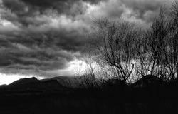 Una tarde nublada Imagen de archivo