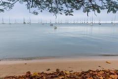 Una tarde nublada del otoño Imagen de archivo