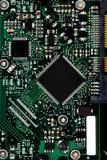 Una tarjeta de circuitos electrónicos moderna Fotografía de archivo libre de regalías
