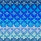 Una tavolozza dei colori luminosi dell'acquerello nei cerchi su una parte posteriore di bianco Fotografia Stock