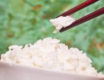 Una taza de arroz Fotografía de archivo