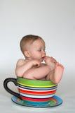 Una taza de bebé Fotos de archivo libres de regalías