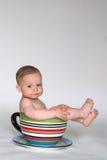 Una taza de bebé Foto de archivo