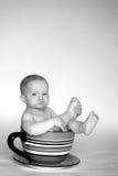 Una taza de bebé Fotografía de archivo libre de regalías