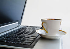 Una taza de café. Fotografía de archivo