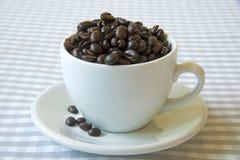 ¿Una taza de café? imagen de archivo
