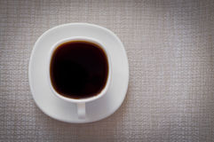 Una taza de café Fotografía de archivo