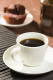 Una taza de café imágenes de archivo libres de regalías