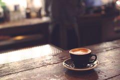 Una taza de café foto de archivo libre de regalías