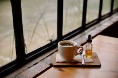Una taza de café Imagen de archivo