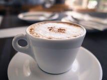Una taza de café Foto de archivo