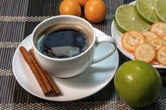 Una taza de café de la fragancia Imágenes de archivo libres de regalías