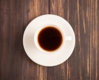 Una taza de café en el vector Imagenes de archivo