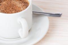 Una taza de café en el vector Foto de archivo