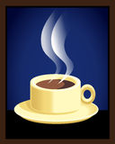 Una taza de café express Foto de archivo