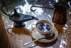 Una taza de café fuerte Foto de archivo libre de regalías