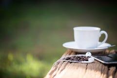 Una taza de café sólo Imagen de archivo libre de regalías