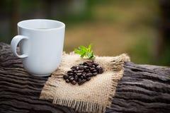 Una taza de café sólo Fotografía de archivo