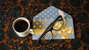 Una taza de caf? imagen de archivo libre de regalías
