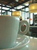 Una taza de coffe Fotos de archivo libres de regalías