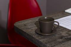 Una taza de té fotos de archivo