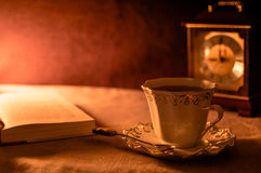 Una taza de té Fotos de archivo libres de regalías