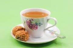 Una taza de té. Foto de archivo libre de regalías