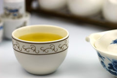 Una taza de té chino Fotos de archivo libres de regalías