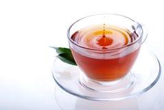 Una taza de té negro Foto de archivo libre de regalías