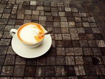 Una taza de té tailandés Foto de archivo libre de regalías