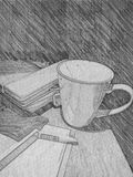 Una taza del té Fotografía de archivo