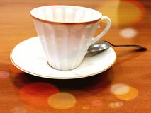 Una taza para el té Imagen de archivo libre de regalías