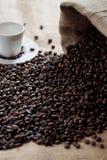 Una taza sabrosa de café italiano Fotos de archivo libres de regalías
