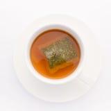 Una tazza del tè di erba per la disintossicazione Immagine Stock