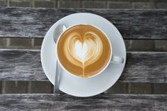 Una tazza di amore Fotografie Stock Libere da Diritti