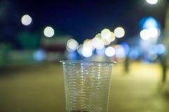 Una tazza di bokeh, immagini stock libere da diritti