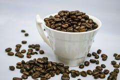 Una tazza di caffè immagini stock