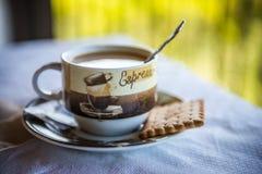 Una tazza di caffè Fotografia Stock Libera da Diritti