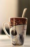 Una tazza di caffè? Immagini Stock Libere da Diritti