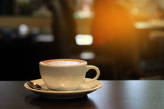 Una tazza di caffè Fotografie Stock Libere da Diritti