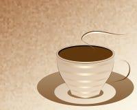 Una tazza di caffè, astrazione. Fotografia Stock