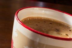 Una tazza di caffè di mattina Fotografia Stock