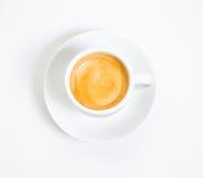 Una tazza di caffè espresso Fotografia Stock Libera da Diritti