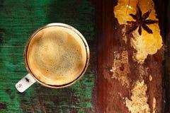 Una tazza di caffè nero Immagine Stock Libera da Diritti