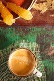 Una tazza di caffè nero Fotografia Stock Libera da Diritti