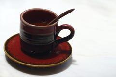 Una tazza di caffè squisito Immagini Stock Libere da Diritti