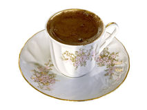 Una tazza di caffè turco Fotografia Stock Libera da Diritti