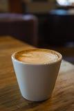 Una tazza di cappuccino Fotografia Stock Libera da Diritti