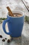 Una tazza di cioccolata calda Fotografia Stock